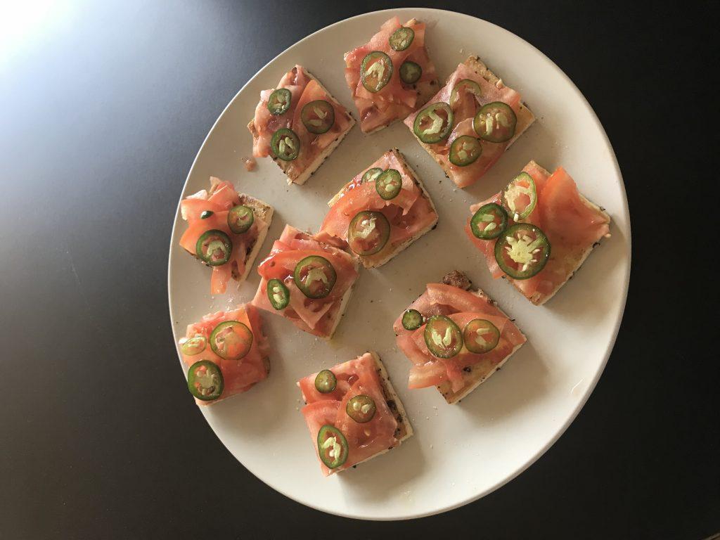 Recette Minceur Toast Tofu Tomates Perdre du Poids Homme Facile La Methode Tunzini 01